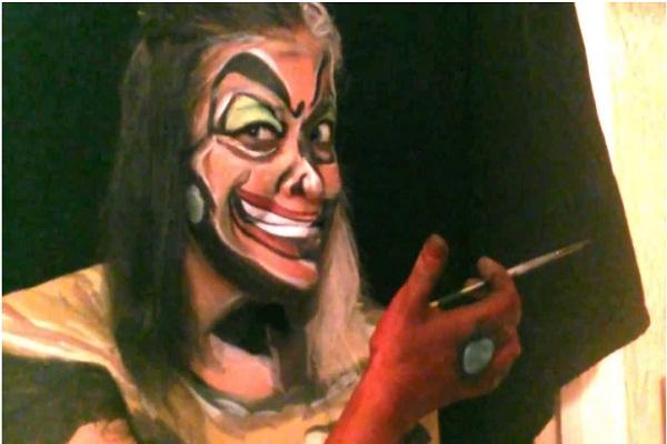 Cruella De Vil-Disney Full Body Painting