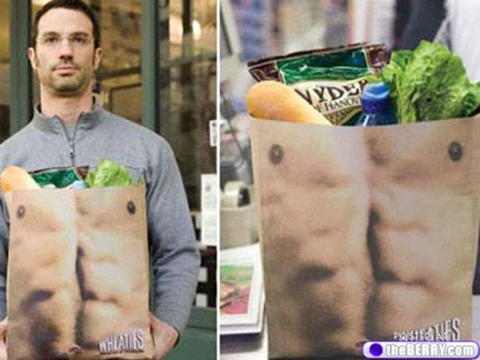 Ripped Abs-24 Most Creative Bag Ads