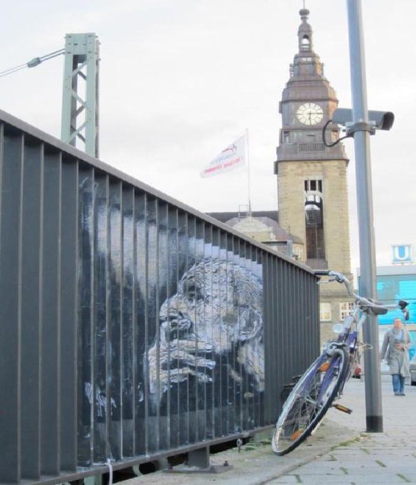 Pondering-Hidden Railing Street Arts
