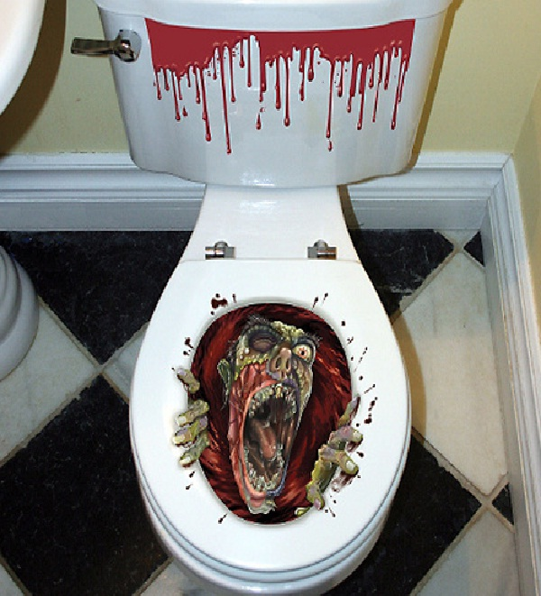 Scary-Amazing Toilet Seats