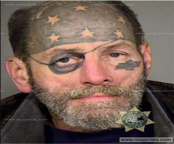 American Pirate-Bizarre Forehead Tattoos