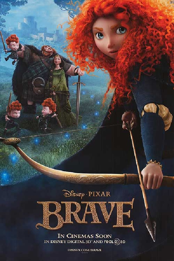 Brave-Best Disney Pixar Movies