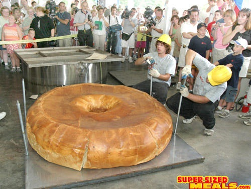 The Biggest Bagel-Biggest Foods In The World