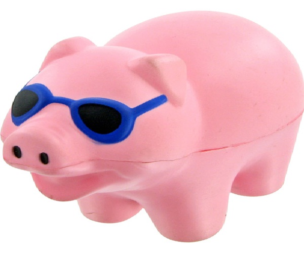 Cool Pig-Coolest Stress Balls