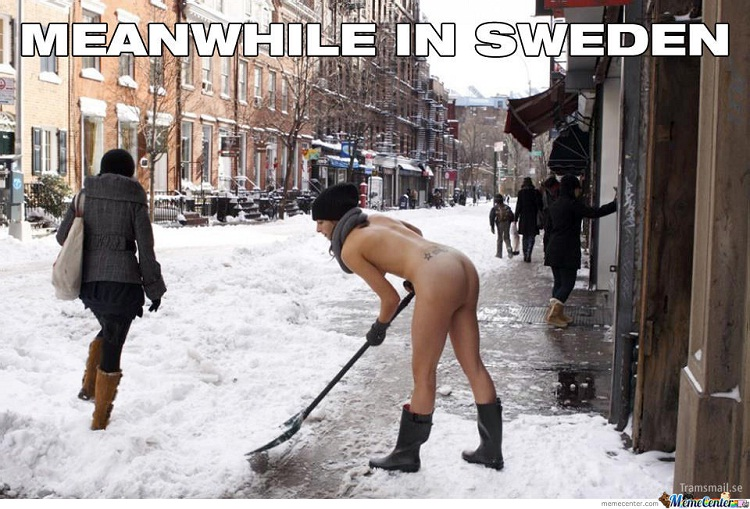 That Is How You Clean The Street-Best Meanwhile In Sweden Memes