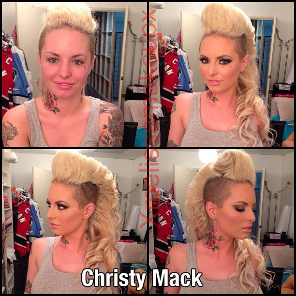 Christy Mack-Pornstars With And Without Make Up