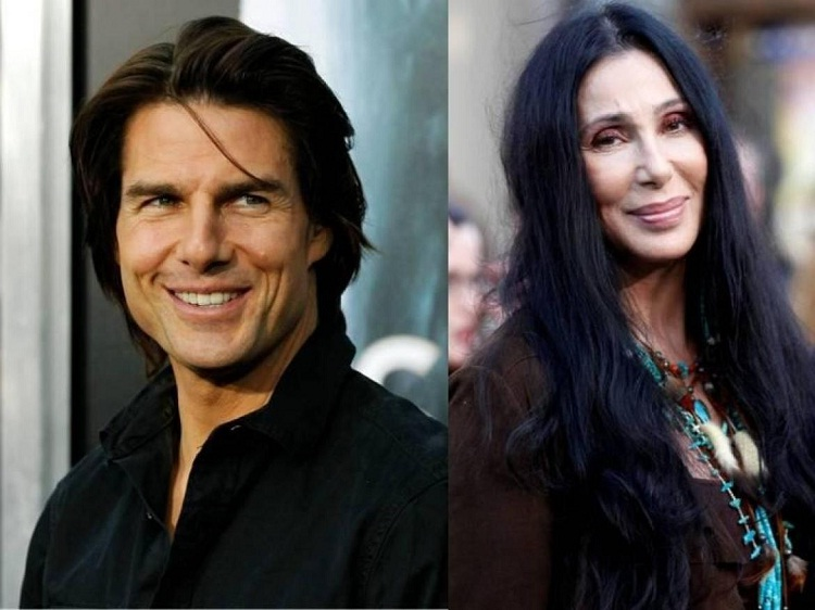 Tom Cruise & Cher-Unlikely Celebrity Friends