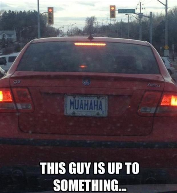 What The Heck?-Hilarious License Plate Fails