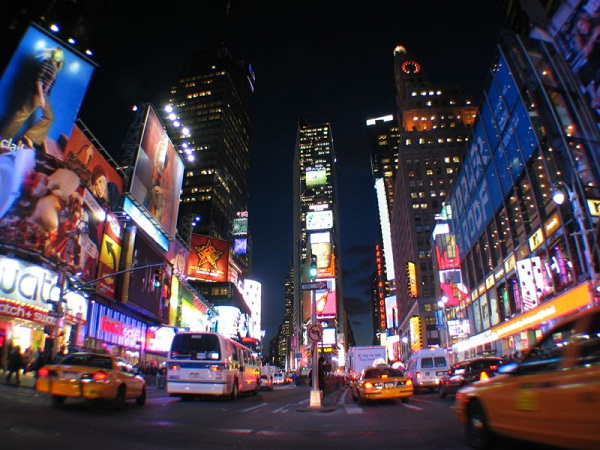 Times Square-Best Places To Visit In New York