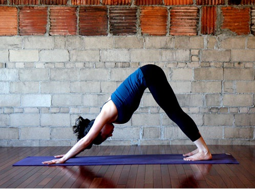 Downward Dog-Simple Yoga Positions To Relieve Stress