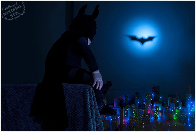 The Dark Knighty-Night-Creative Parents Re-Enact Famous Movie Scenes Starring Their Baby Son