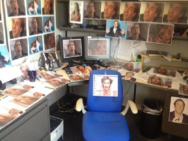 In The Cage-Best Office Pranks