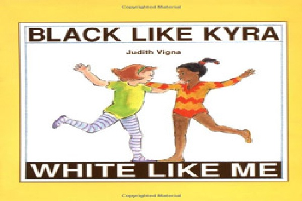 Black Like Kyra, White Like Me-Most Bizarre Children's Books