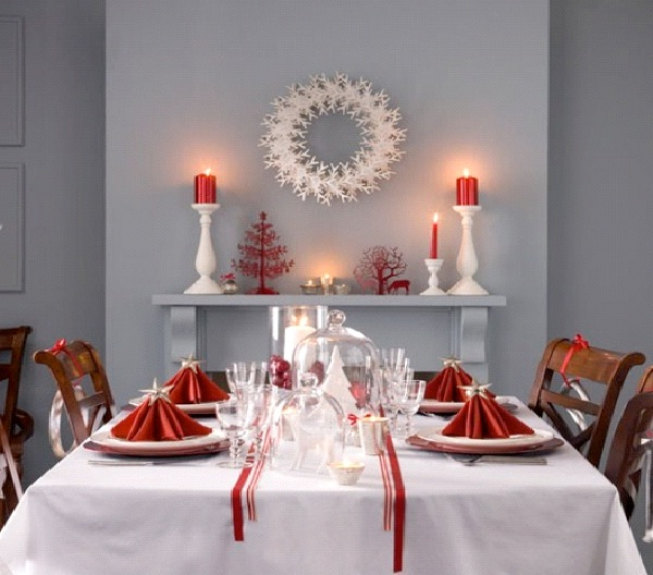 Shades Of White-Christmas Decoration Ideas