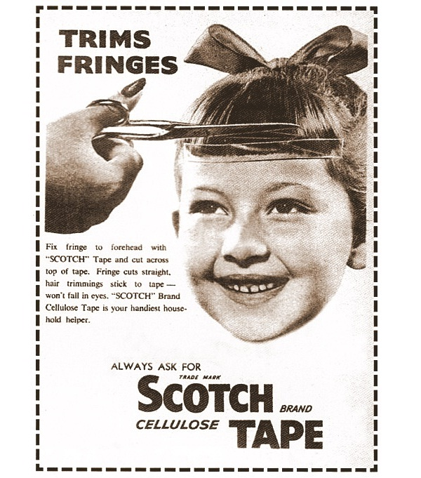 Tape?-Bizarre Advertising From Around The World