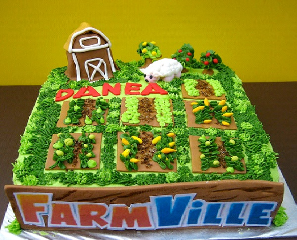 Farmville-Most Geeky Cakes