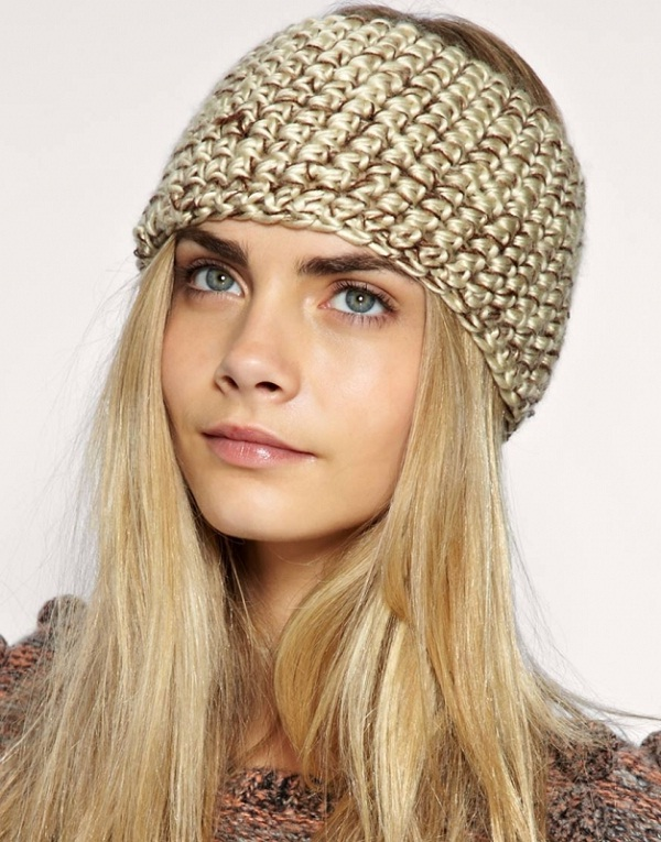 Knitted-Amazing Headbands You Can Make Yourself