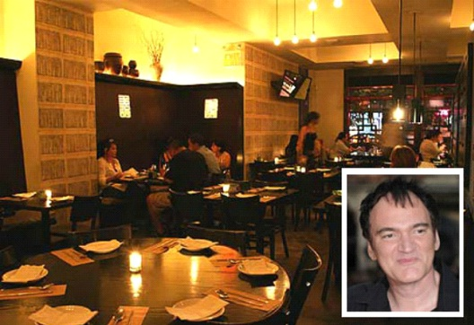 Quentin Tarantino - Do Hwa-Celebrities Who Own Their Own Restaurants