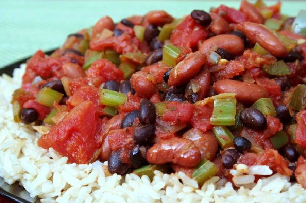 Bean Chili And Basmati Rice-Tasty Low Calorie Snack Ideas