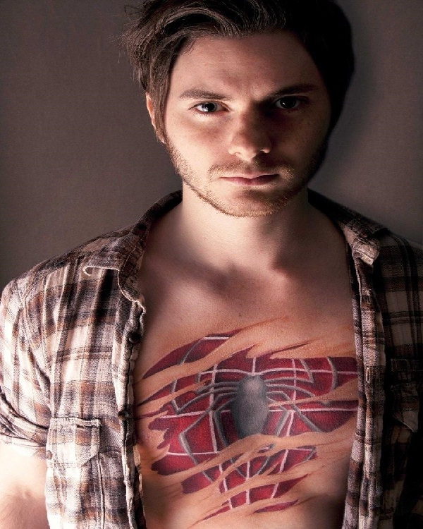 Spiderman-15 Cool Tattoos For Men That Make You Say WOW!