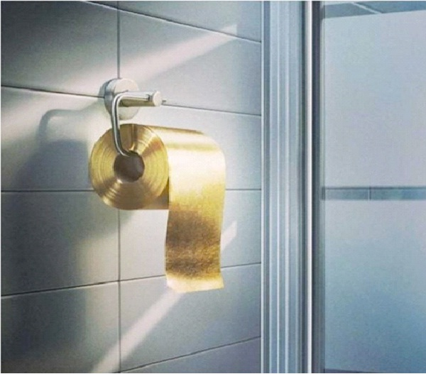 Gold-Weirdest Toilet Papers