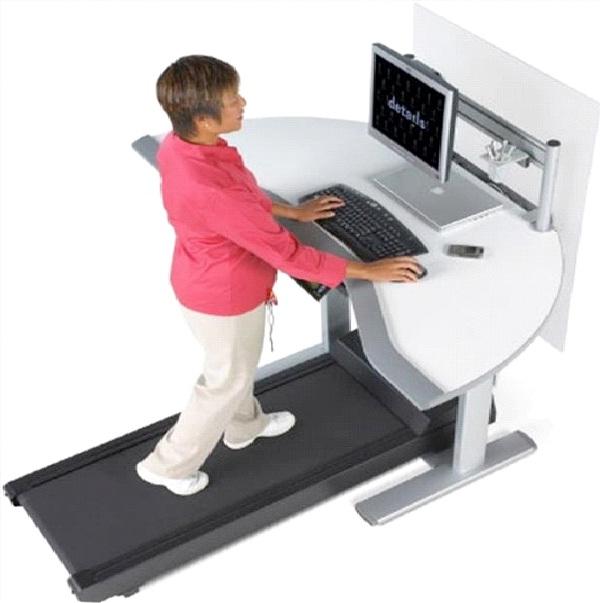 Walking Desk-Simple But Genius Ideas