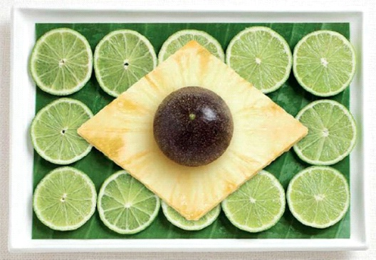 Brazil-Most Creative Flags Made Out Of Food