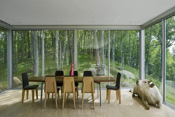 A Forest Feast By Stuart Parr Design-Amazing Glass Houses