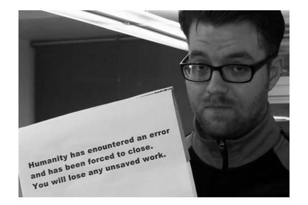 Human Error-Hilarious End Of The World Signs