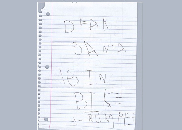Straight To The Point Santa Letter-Hilarious Letters To Santa