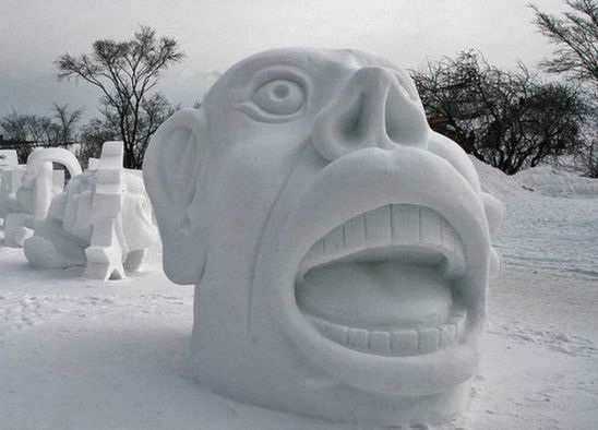 Some Are Just Fun-Most Amazing Snow Sculptures