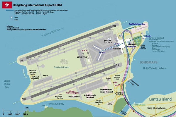 Hong Kong-Largest Airports In The World