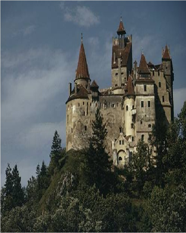 Dracula's castle-Amazing Mansions
