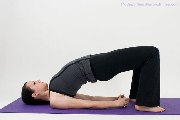 The Bridge-Simple Yoga Poses To Lose Weight