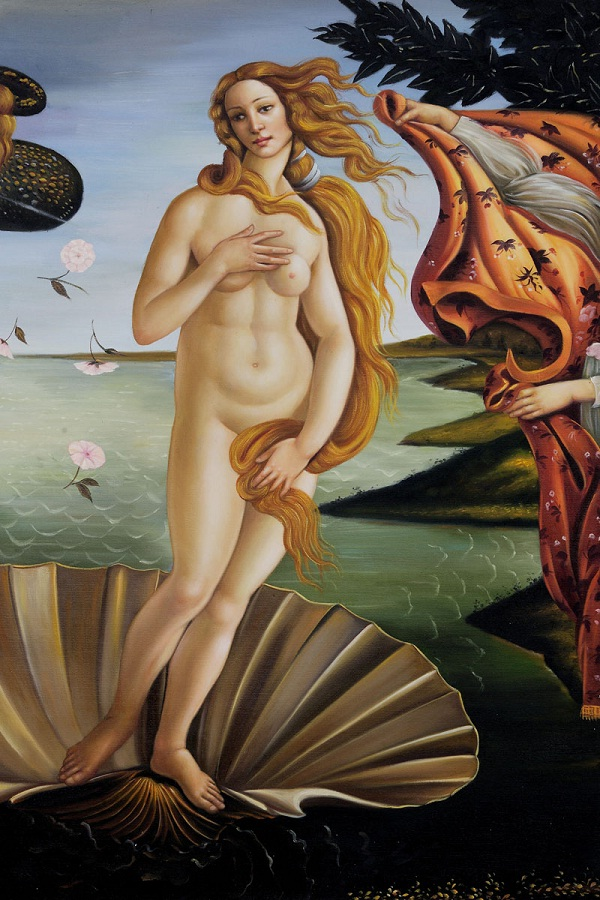 Botticelli's Beautifully Weird Shape-Weirdest Body Shapes People Have