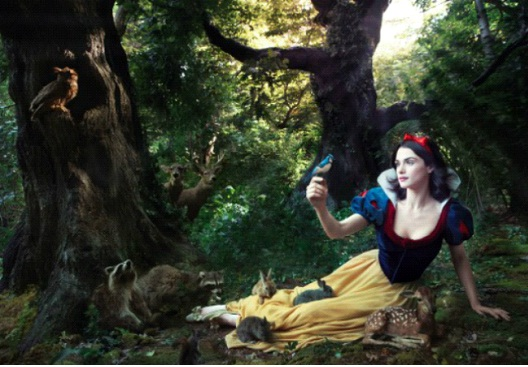 Rachel Weisz As Snow White-Celebs In Disney Inspired Photos