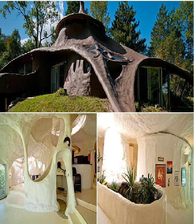 Concrete Dome Homes: The Foam House-Weirdest Houses In The World