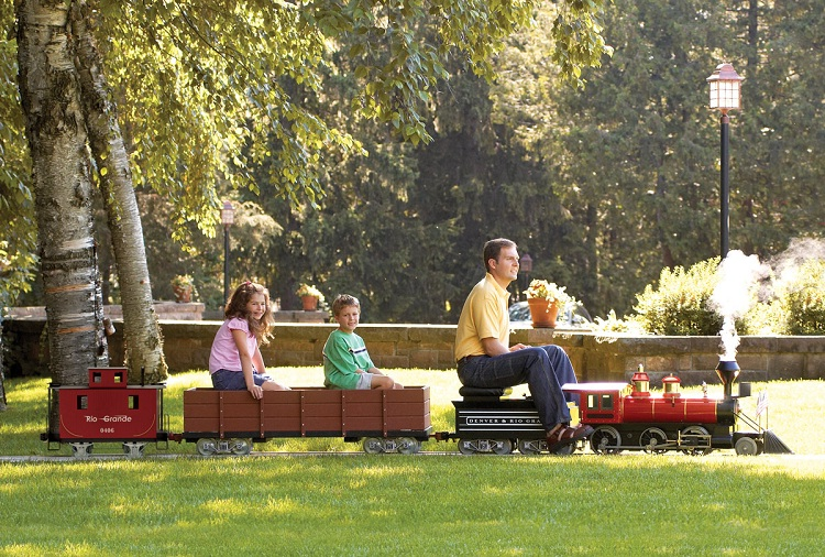 Get The Train-The Coolest Backyards