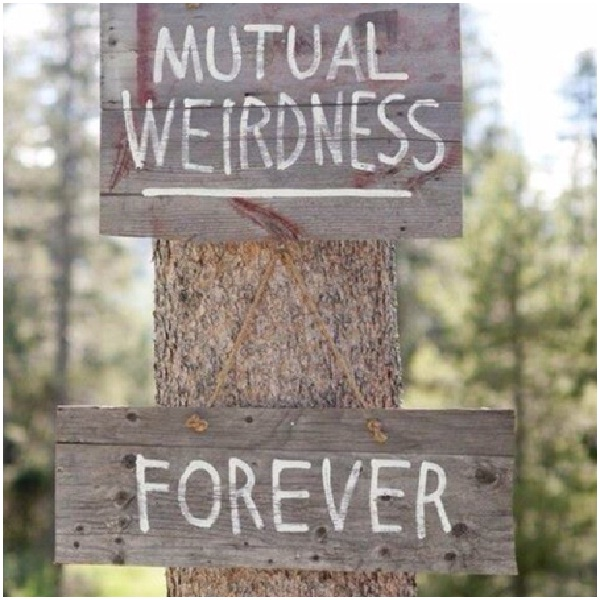 Mutual Weirdness-12 Funniest Wedding Signs Ever Seen