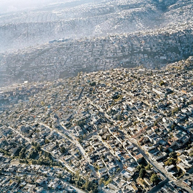 Mexico City-How Our World Appears To A Bird