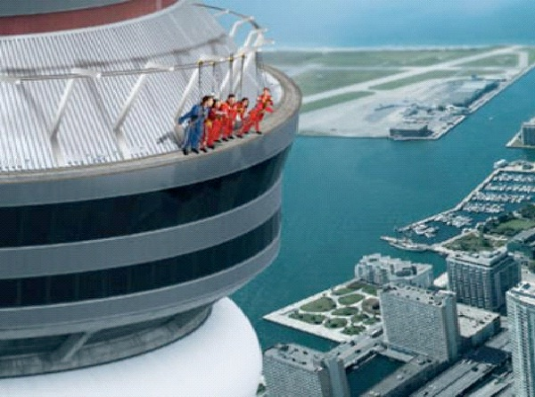 CN Tower - Toronto, Ontario, Canada-Best Skywalks In The World