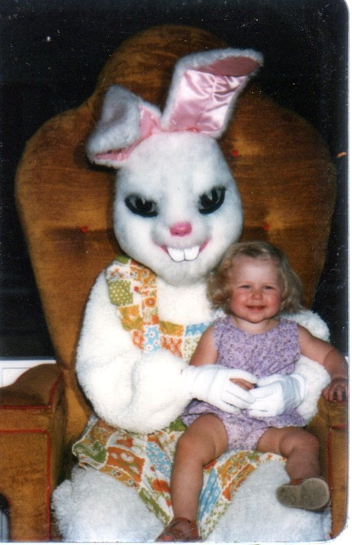 A Demon Bunny-Not So Cute Easter Bunnies