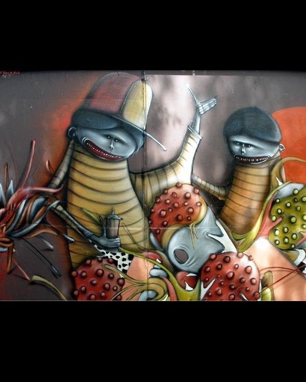 The bugs-Best Wall 3D Graffiti