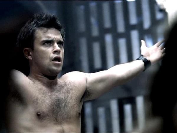 Robbie Williams-Celebrities Naked In Music Videos