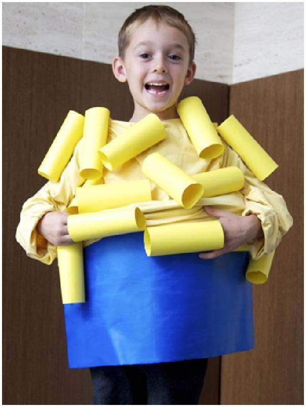 Macaroni And Cheese-Homemade Halloween Costumes For Kids