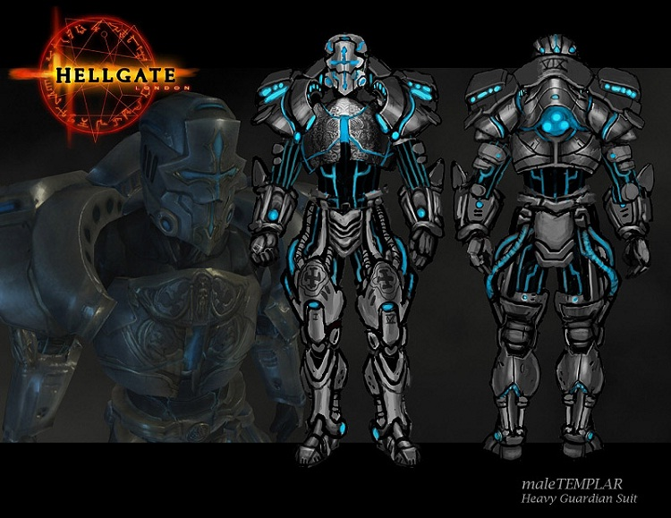 Hellgate London - Templar armor-Coolest Suits Of Armor