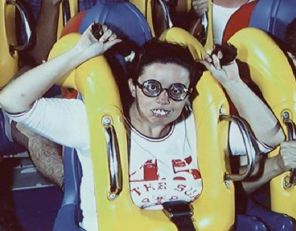 Austin Powers-Funniest Roller Coaster Photos