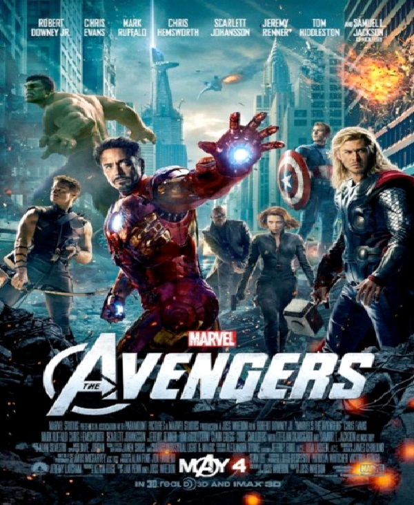 The Avengers - $220-Most Expensive Films Till Now