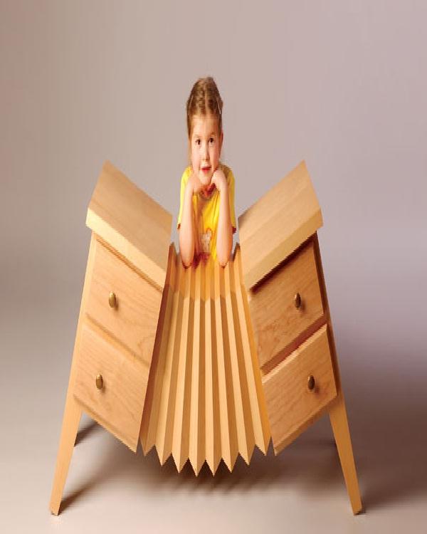Accordion-Weird Bedroom Furniture