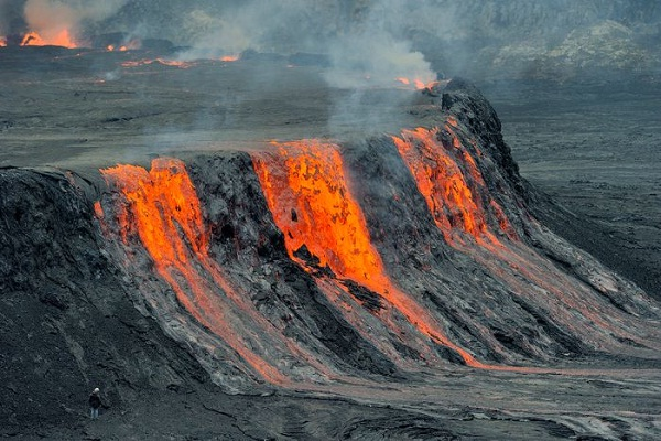 Nyiragongo-Most Active Volcanoes In The World